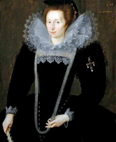 Gheeraerts the younger, Marcus, 1561/1562-1635/1636; Lady Margaret, Daughter of Sir William Dormer, Wife of Sir Henry Constable